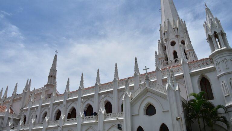 चेन्नई का मशहूर सेंट थॉमस कैथेड्रल बेसिलिका