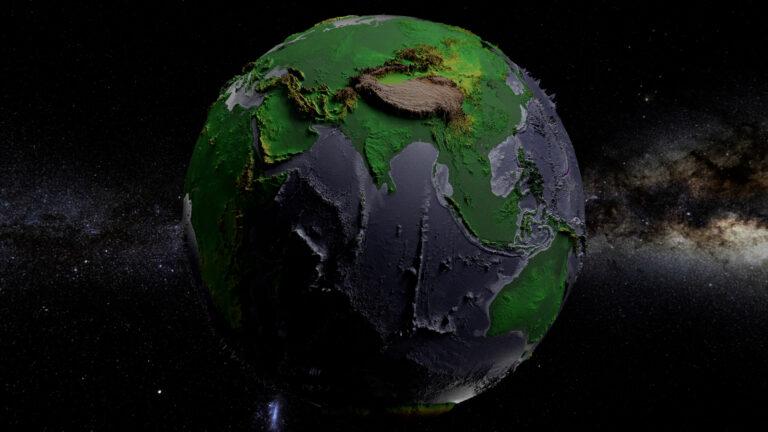 भारत में पृथ्वी के निर्माण के संकेतक