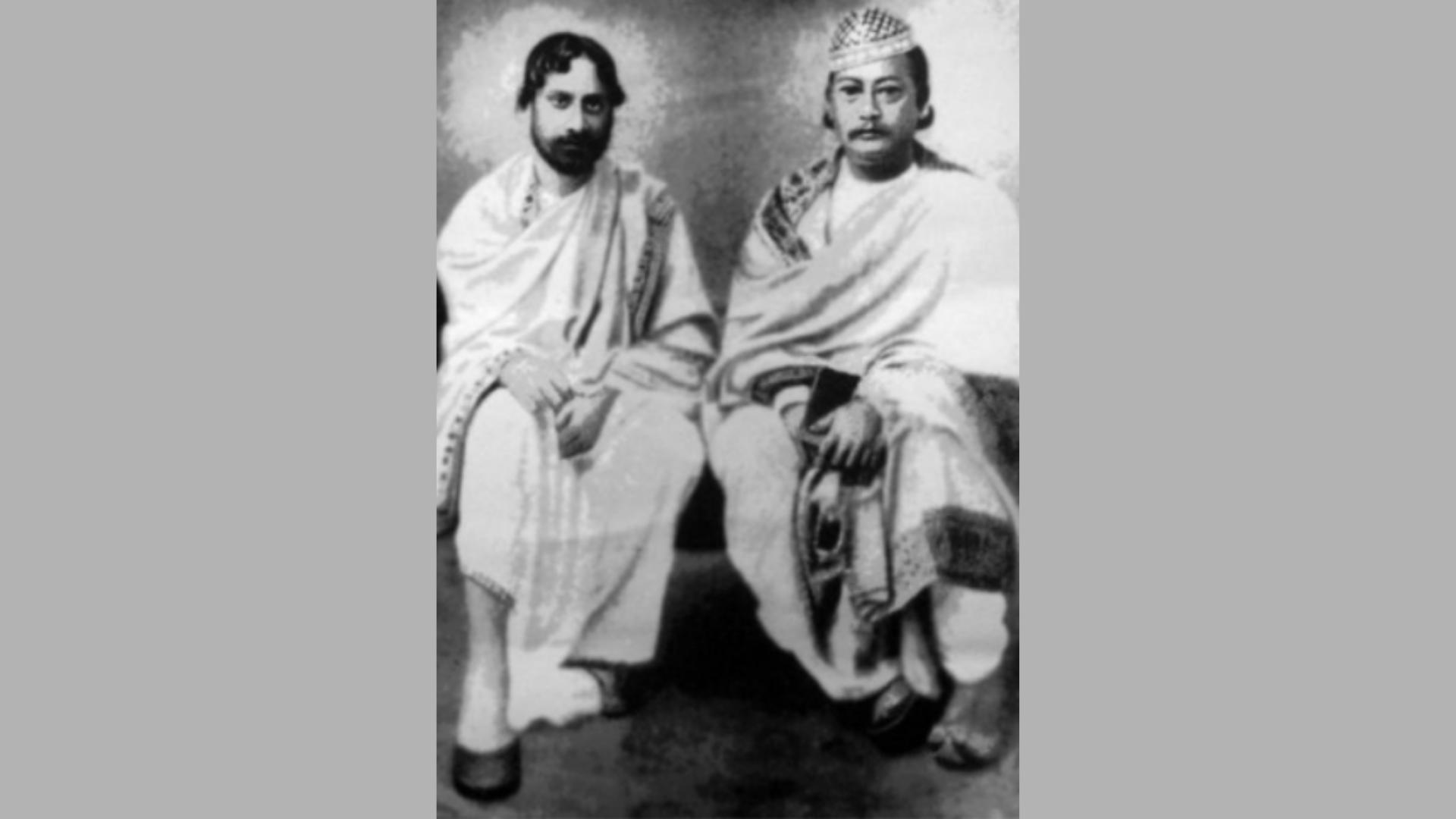 रवींद्रनाथ टैगोर और त्रिपुरा के शाही परिवार का दोस्ताना