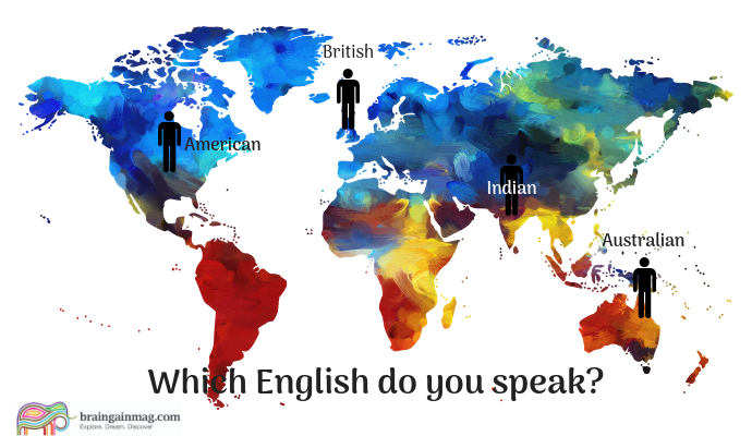 One language, many accents: The making of a global English