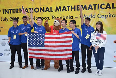 Indian American whiz kids help US team to coast to first place in Math Olympiad