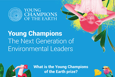 Dare to invent the future: Apply to be a UN Young Champion of the Earth and you could win $15,000