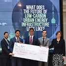 Indian School of Business students win first prize in the International Case Competition at Rotman School