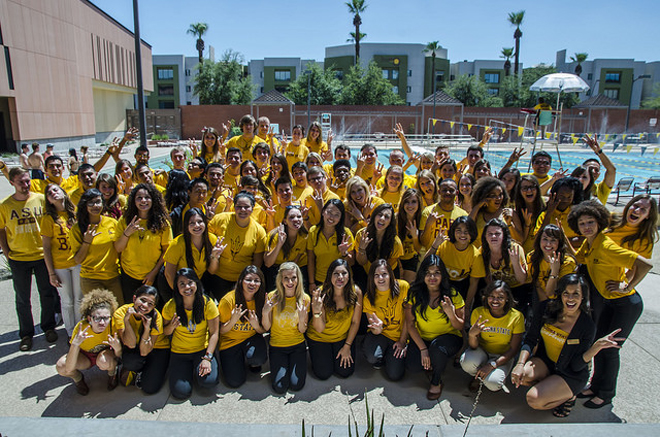 Coaches of Arizona State University's first-year success program.