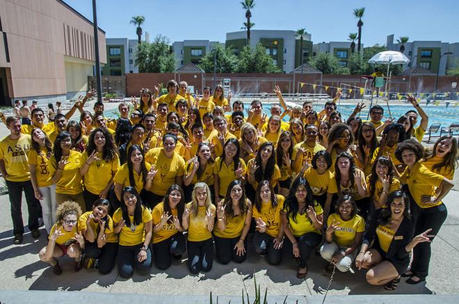 Coaches of Arizona State University's first-year success program.