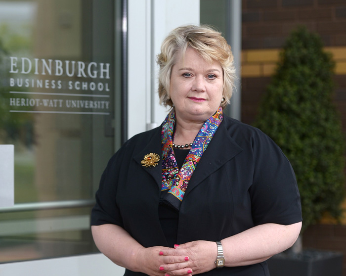 Professor Heather McGregor is Executive Dean of Edinburgh Business School
