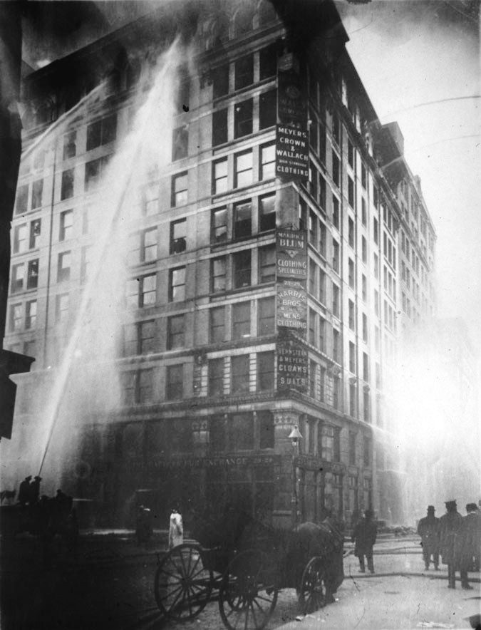 Triangle Shirtwaist Factory fire, New York City