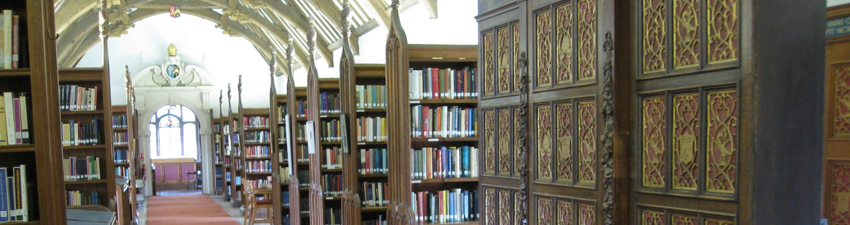 Interiors of St. John's College Library