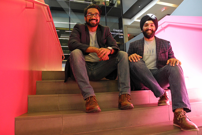 Rahul Udasi and Manmeet Maggu