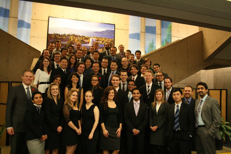 Sauder Business School MBA graduates