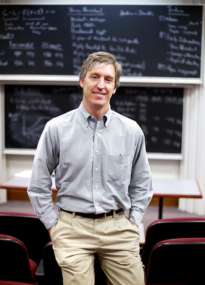University of Chicago professor Steven D. Levitt