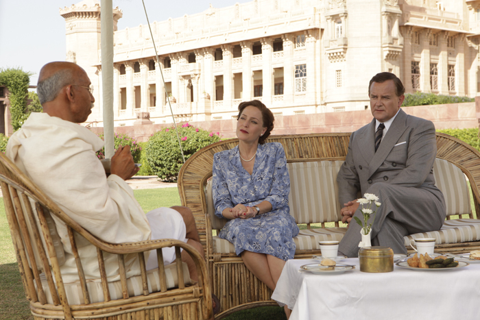 Above: Still from 'Viceroy's House'