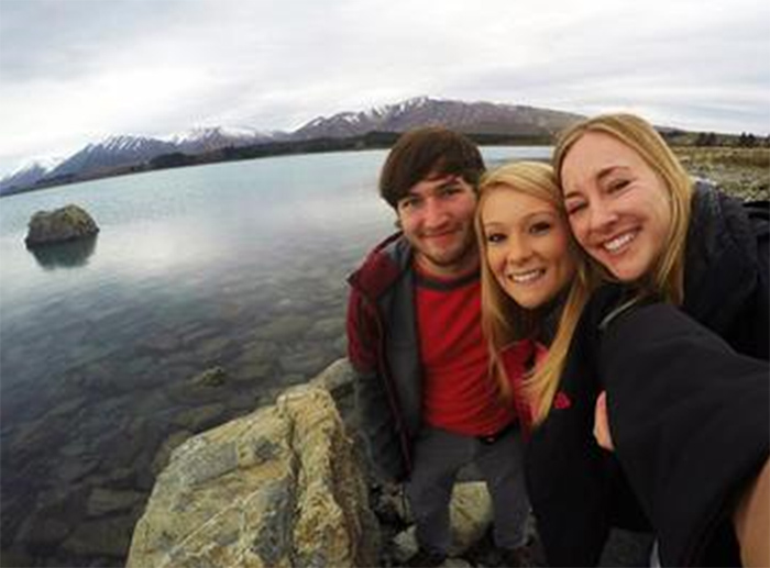 Students participating in the National Expedition and Internship Program