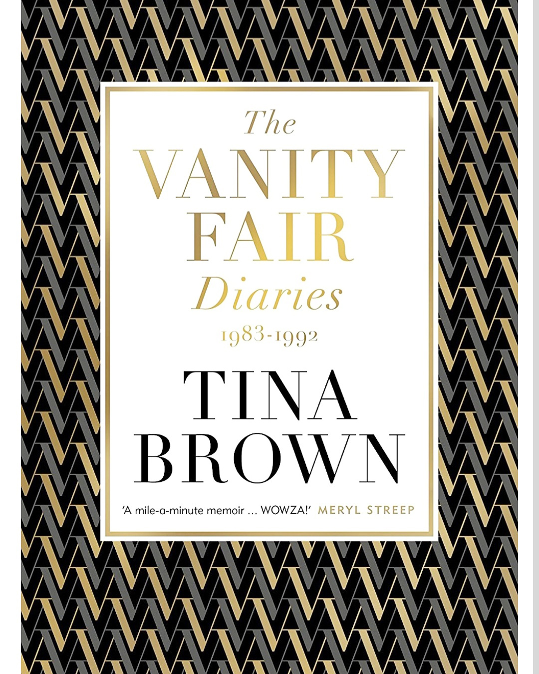 The Vanity Fair Diaries 1983-1992, by Tina Brown, published by Henry Holt and Company