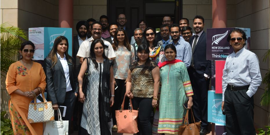 More than 20 study agents at Welcome2NewZealand session at the High Commission in Delhi