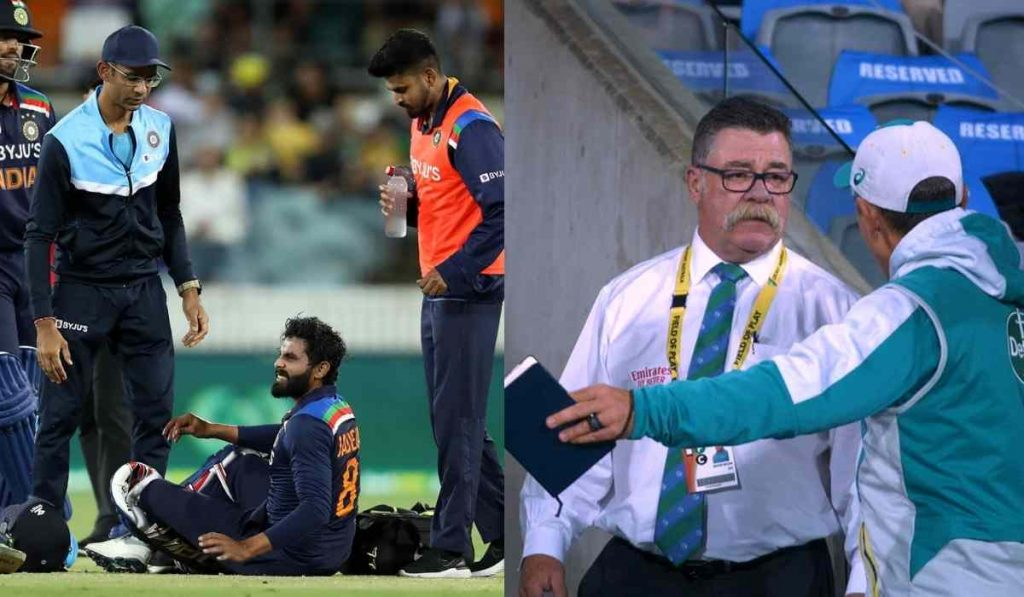 AUS vs IND 1st T20 : Concussion substitute re-ignited the old India vs Australia rivalry
