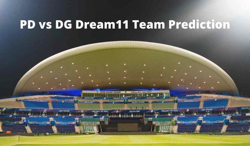 PD vs DG Dream11 Team Prediction