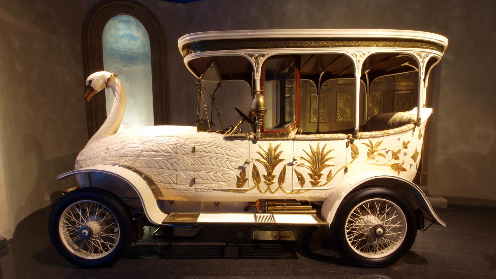 Swan Car: Bizarre, Weird…or Just Quirky?