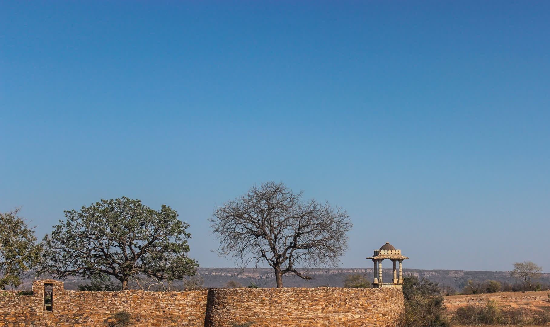walls that have protected the fort