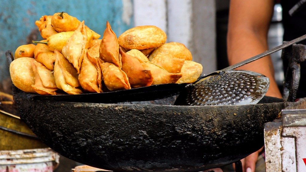 Samosa-cooking