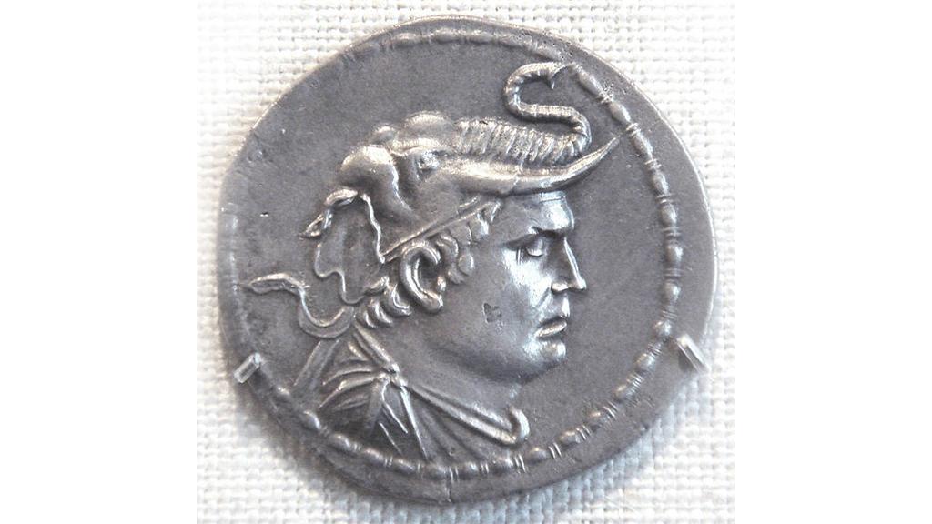 A coin of Demetrios