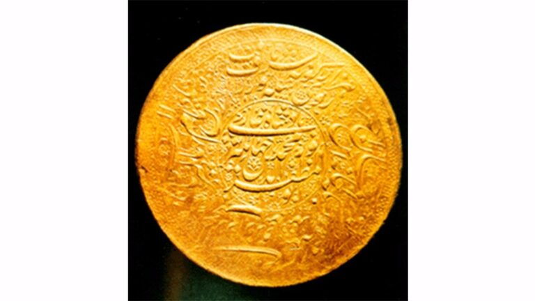 India's Largest Gold Coin