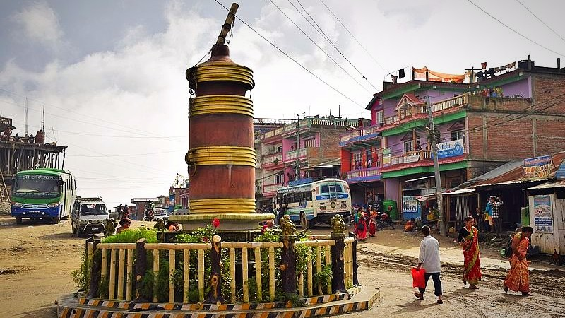 Tongba chowk in Nepal