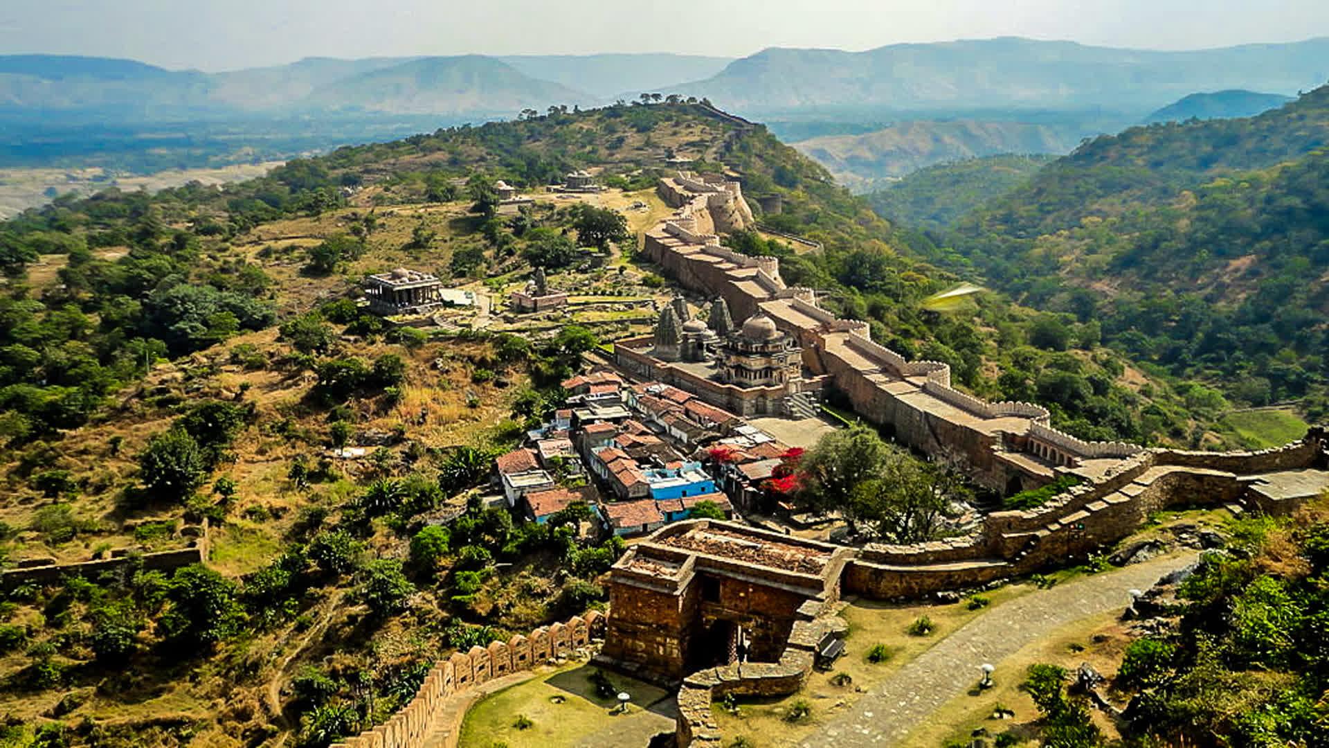 Kumbhalgarh: The Great Wall of India