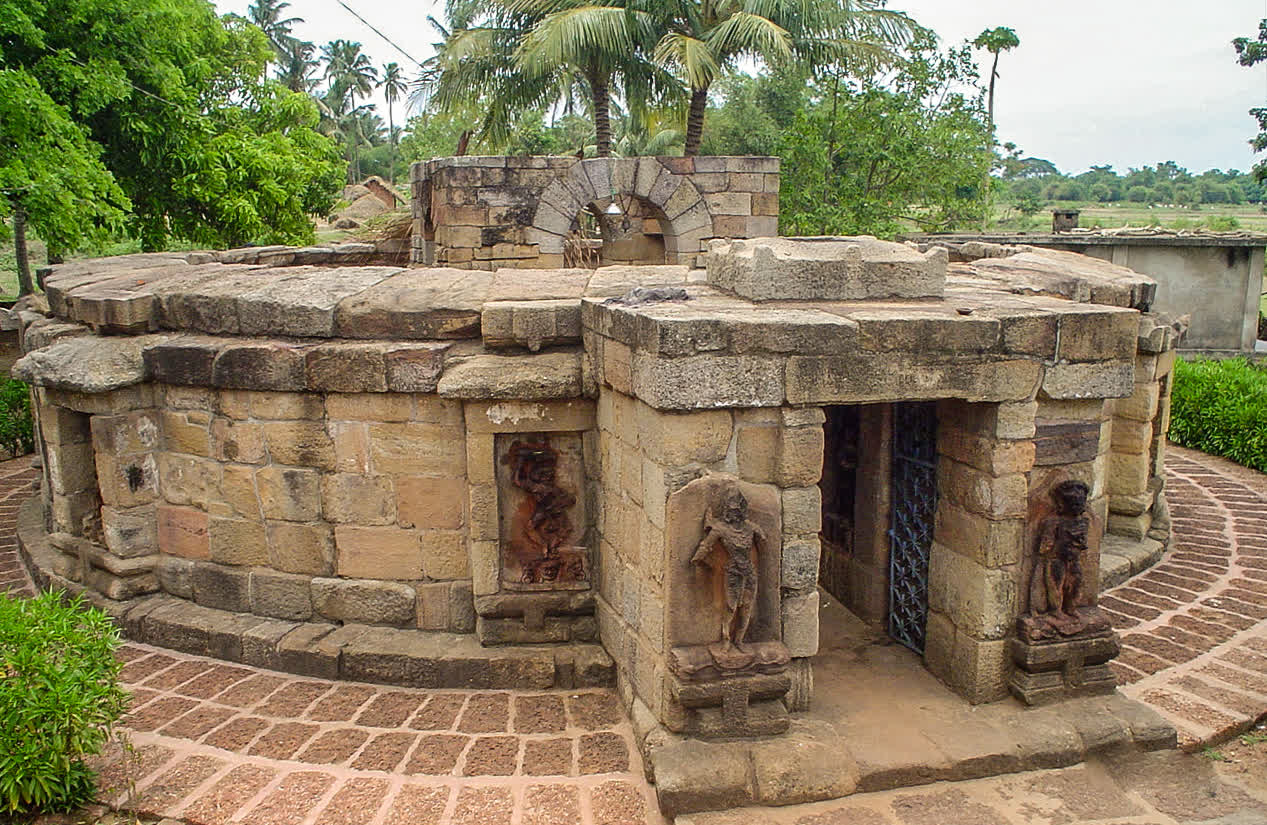 The existence of the Hirapur Yogini temple, came to light only in 1953