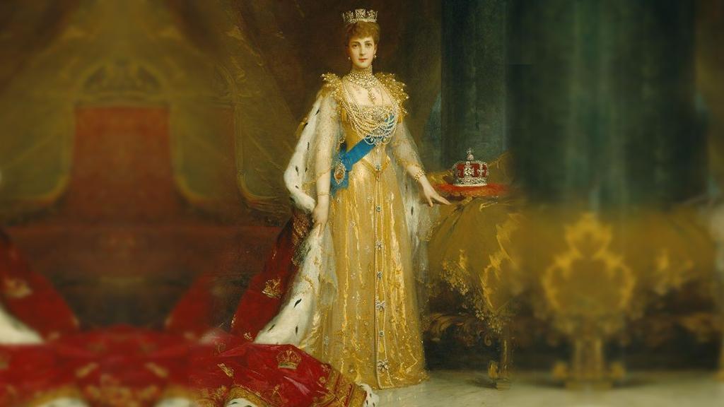 Queen Alexandra at her coronation