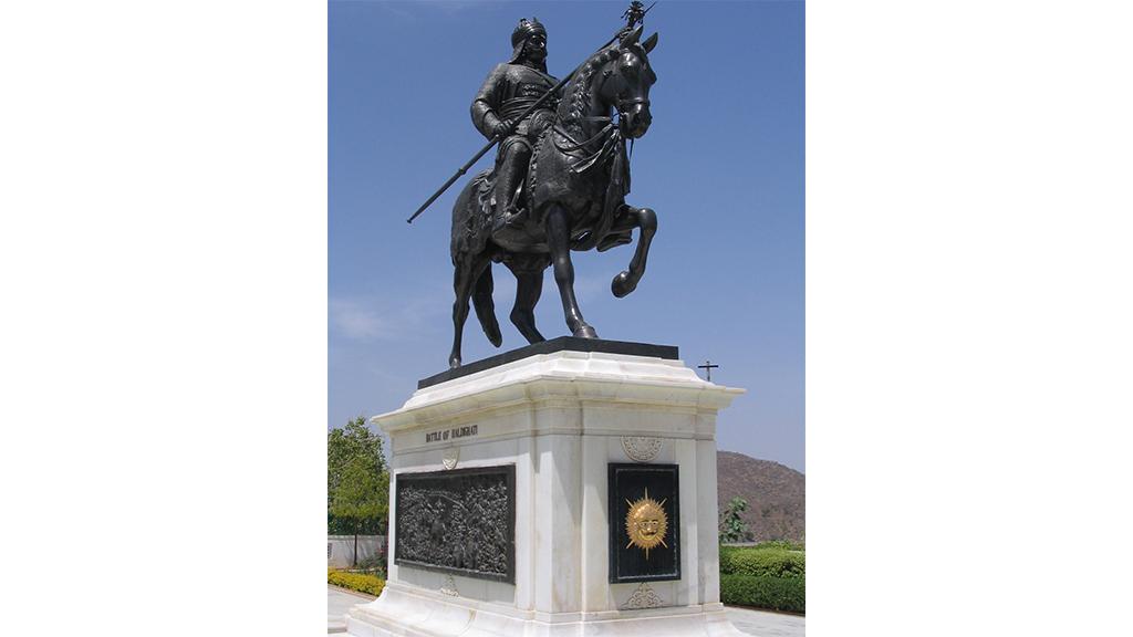 Statue of Maharana Pratap at Udaipur