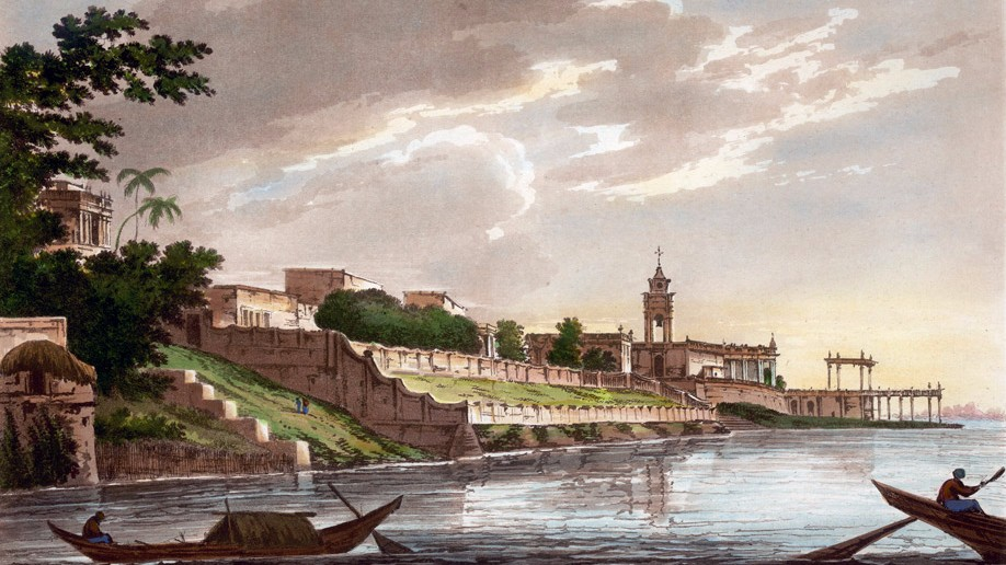 A view of the Dutch settlement at Chinsurah in Bengal