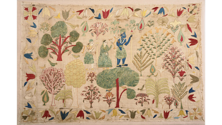 Threaded Tales in the Chamba Rumal