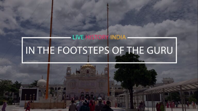 In the Footsteps of the Guru