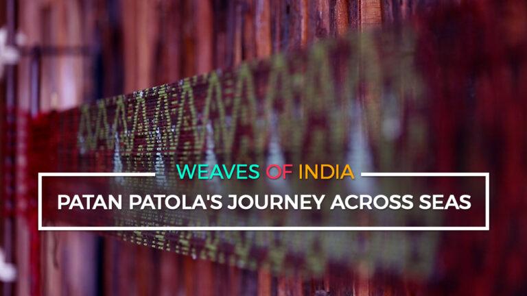 Patan Patola's Journey Across Seas