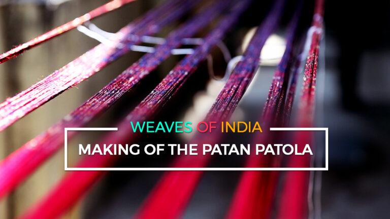 Making of the Patan Patola
