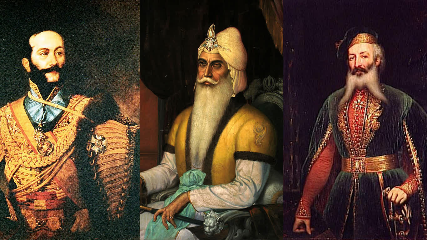 Ranjit Singh's French Connection