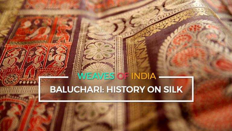 Baluchari: History on Silk