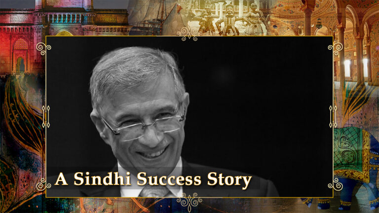 A Sindhi Success Story