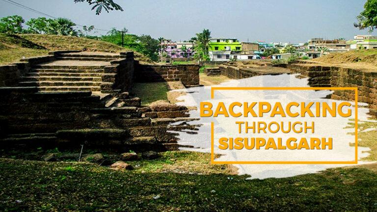 Backpacking through Sisupalgarh