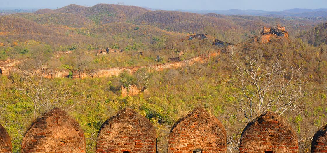 The Twin Forts of Palamu