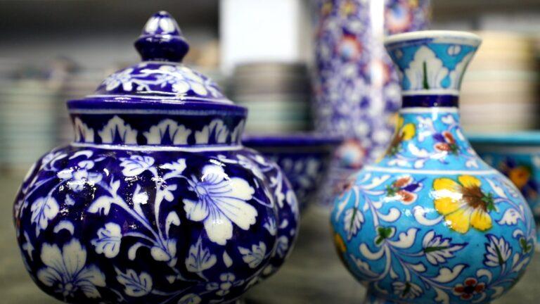 Jaipur's Blue Pottery