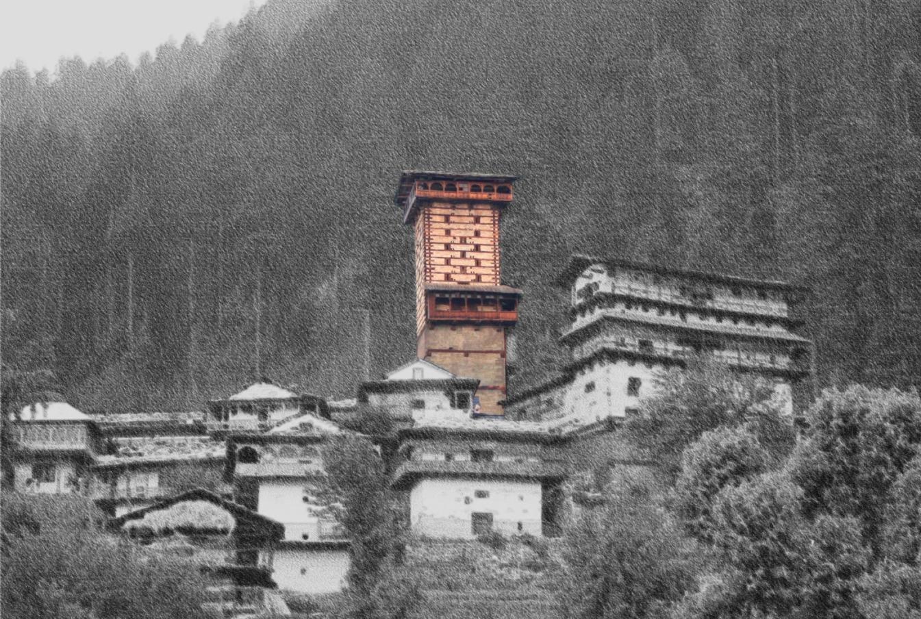 Chaini Kothi: Himachal's Towering Edifice