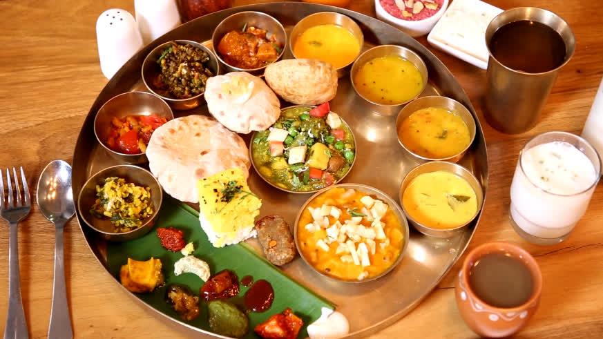 Gujarati Thali: Celebrating History in Food