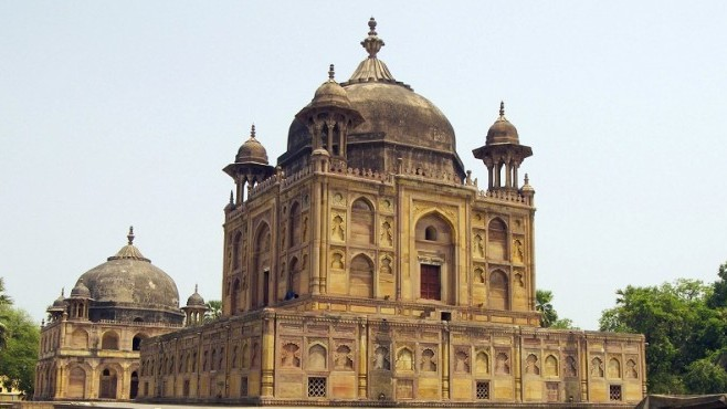 The Remnants of Akbar's Ilahabas