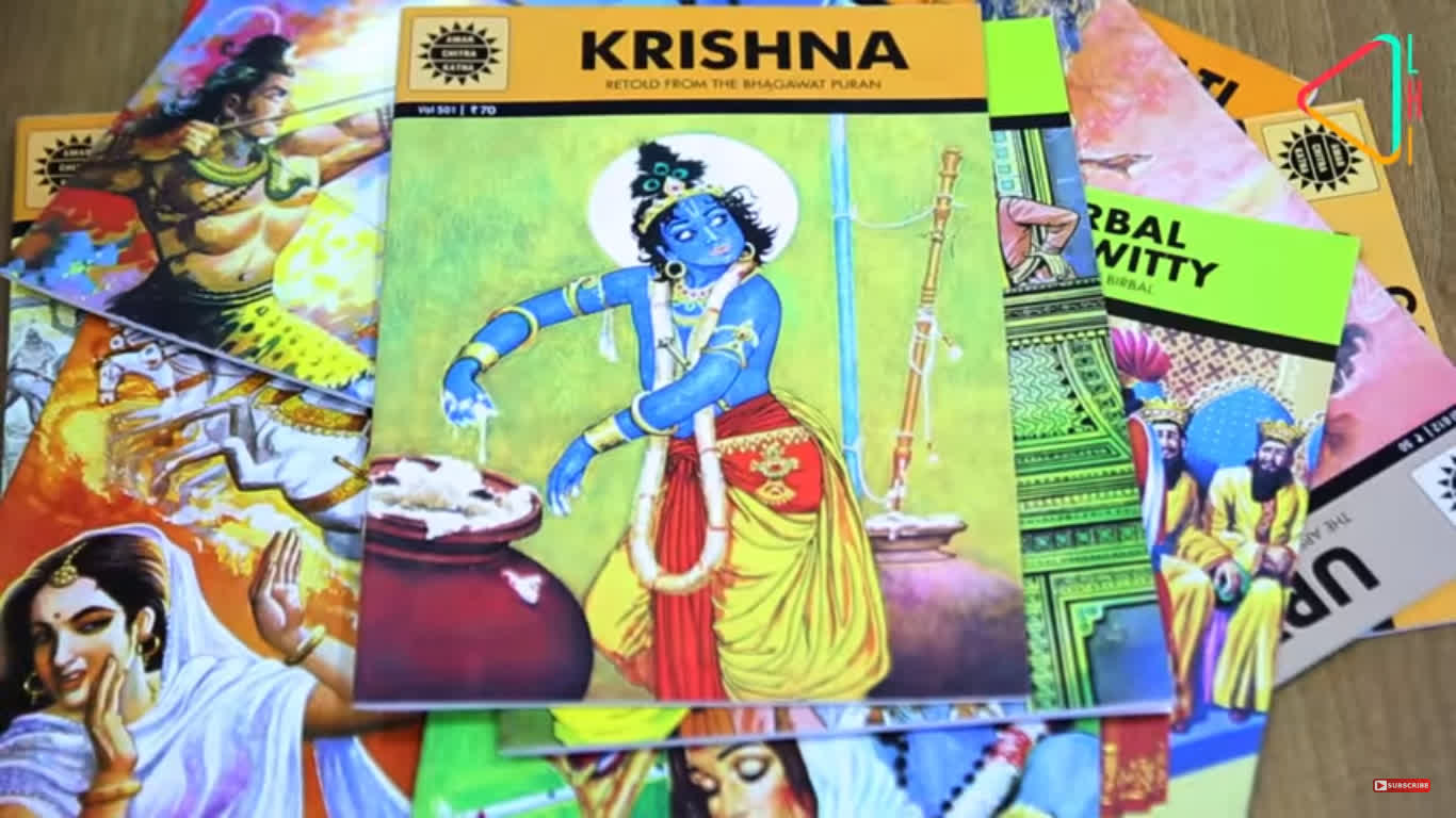 The Story of Amar Chitra Katha | Tales & Trails
