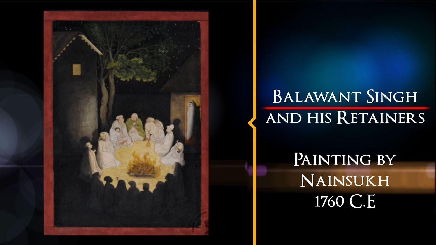 A Nainsukh Masterpiece | Treasures of India