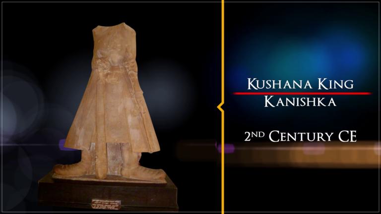 Sculpture of Kanishka | Treasures of India