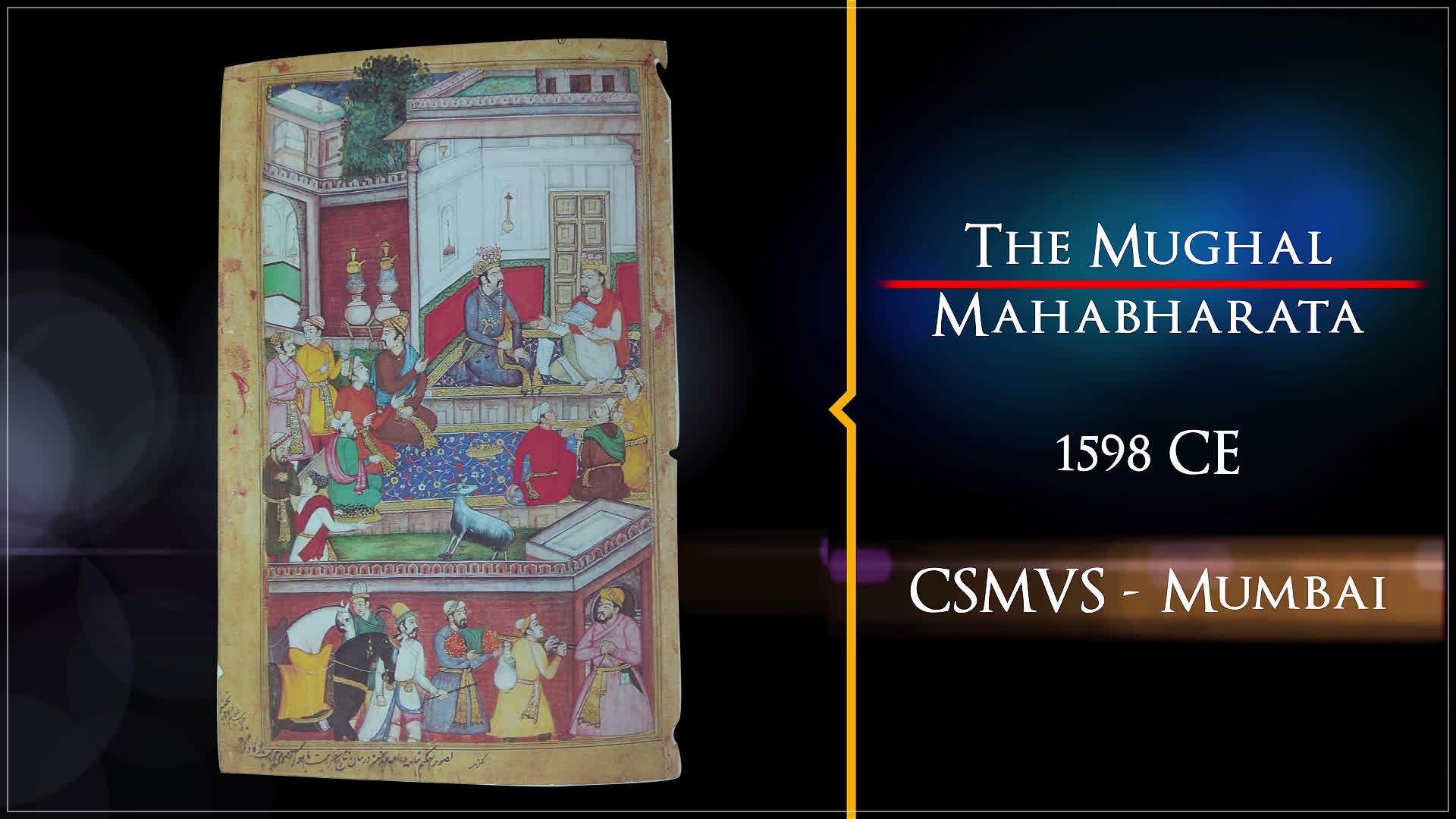 The Mughal Mahabharata | Treasures of India