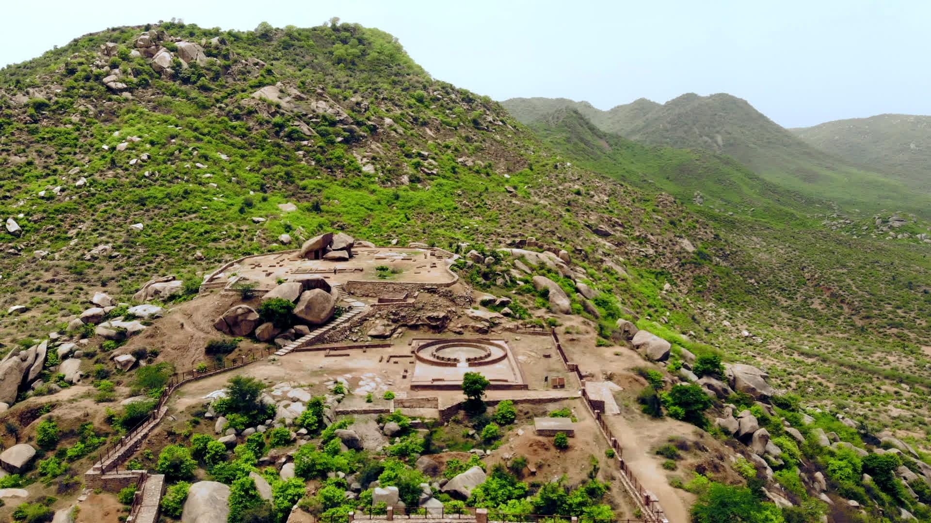 Viratnagar Stupa: Pilgrims' Post